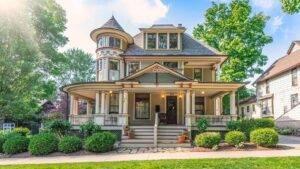 Victorian house porch flooring