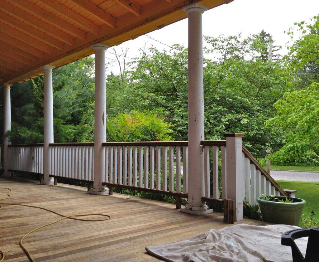 porch decking material